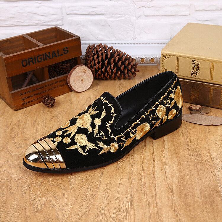 Business Loafer Metall Fahren Laufsteg Büro Anzug Herren