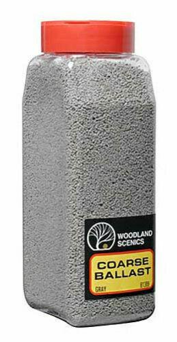 Woodland Scenics #785-1389 Gray Coarse Ballast Shaker