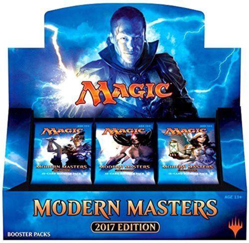 MODERN MASTERS 2017 Edition Booster Box factory Seal MTG MTG MTG Magic the Gathering 9923aa