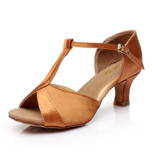 SUN LISA Women/'s Lady/'s Girl/'s High Heels Latin Salsa Tango Ballroom Dance Shoes