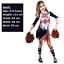Child-Girls-Zombie-Cheerleader-Fancy-Dress-Costume-Kids-Halloween-High-School thumbnail 9