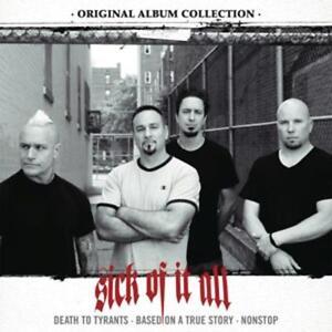 Sick-of-It-All-Original-Album-Collection-Box-Set-3-CD-NUOVO