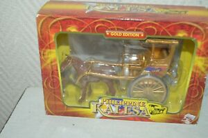 PHILIPINE-KALESA-CALECHE-A-CHEVAL-GOLD-EDITION-DIE-CAST-METAL-1-43-NEUF-CHARIOT