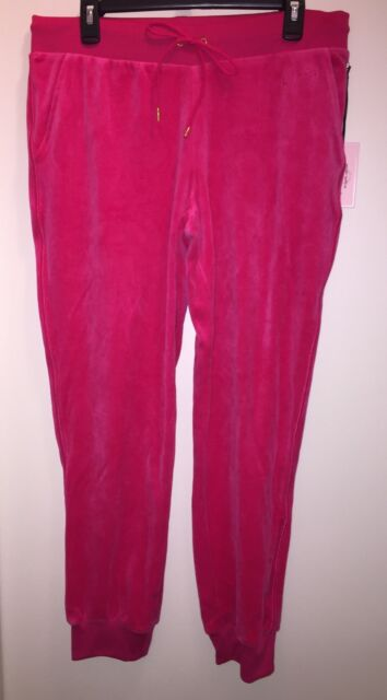 JUICY COUTURE Women's Velour Cuffed Jogger Pants