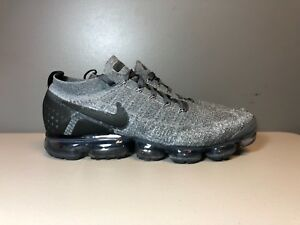check out 4faaa 05cce Image is loading NIKE-AIR-VAPORMAX-FLYKNIT-2-DARK-GREY-BLACK-