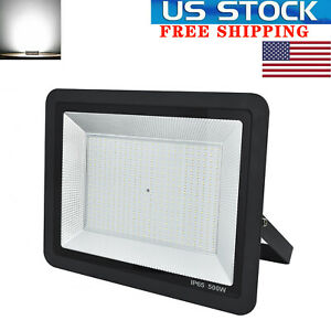 500W-LED-Flood-Lights-Floodlights-Outdoor-Yard-Garden-Security-Lamp-Cool-White