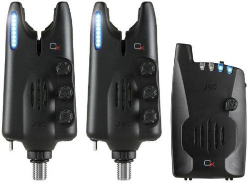 JRC Radar CX Set 2+1 Blue NEW Carp Fishing Alarm Set 1404483