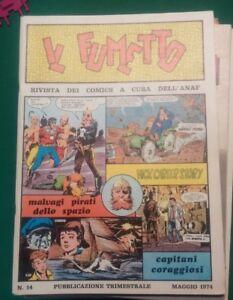 Confiant Il Fumetto Rivista Dei Comics A Cura Dell'anaf N. 14 Maggio 1974