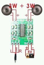 1pcs PAM8403 Mini 2 Channel 3W Audio Power Amplifier Module 5v Board USA Seller