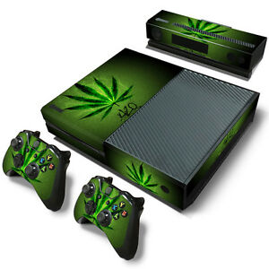 Video Games & Consoles Xbox One X Weed 420 2 Skin Sticker Console Decal Vinyl Xbox Controller Carefully Selected Materials