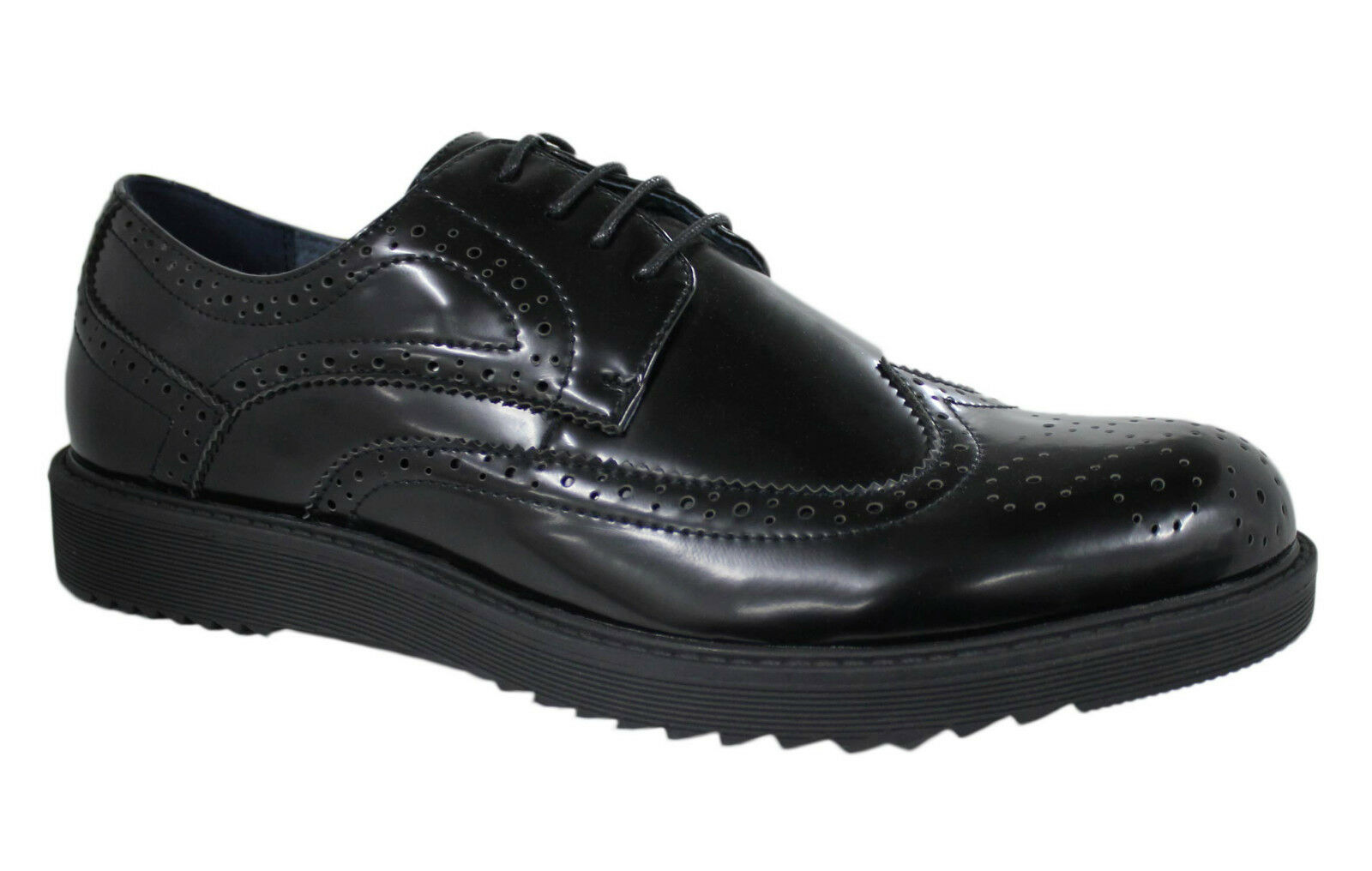 SHOES OXFORD MAN DIAMOND CLASS ELEGANT 40 BLACK ECO LEATHER da 40 ELEGANT a 45 d300a1