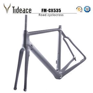Aero-Carbon-Gravel-Bike-Cyclocross-Bicycle-Frame-Disc-Brake-Road-Framesets-BSA