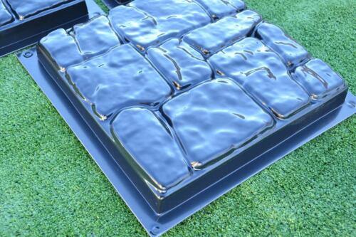 Kunststoff Schalungsform Gießform Beton Gartenweg Pflasterstein Terrasse #S25 1