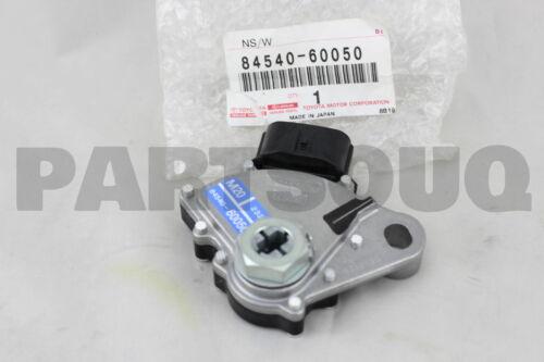 NEUTRAL START 84540-60050 8454060050 Genuine Toyota SWITCH ASSY