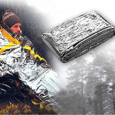 1pcs/Lots Camping Outdoor Emergency Sleeping Blanket Single Survival Sleep Gear