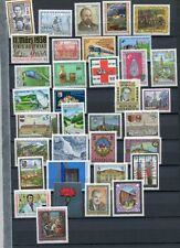 AUSTRIA 1988 MNH COMPLETE YEAR 35 Items