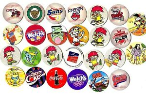 POGS-H-PUBS-26-001-Lot-de-26-POGS-PUBS-PUBLICITAIRE-ADVERTISING-Divers-NEUFS