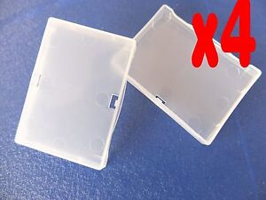 4Pcs-Clear-Protection-Cover-Case-For-Nikon-En-EL3E-D300-D200-D90-D80