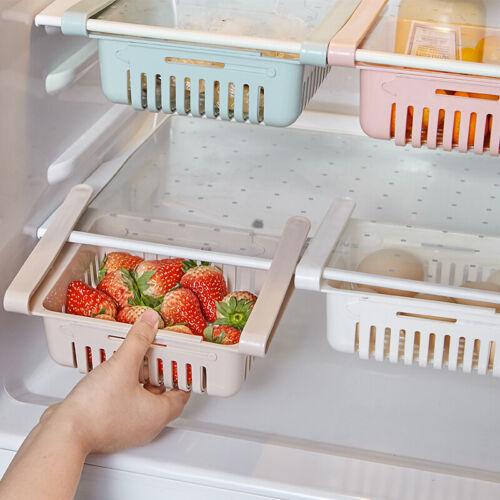 Kühlschrank Organizer Korb Ausziehbare Schubladen Frische Spacer Storage Rack