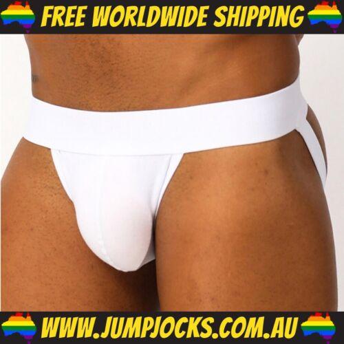 Fetish Gay *FREE SHIPPING WORLDWIDE* Jocks Underwear White Jockstrap