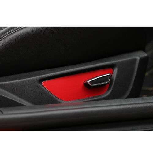 New Red Electric Seat Adjustment Frame trim For 2015-19 Ford Mustang