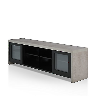 34b4a415df6aa HOMES: Inside + Out FGI-1780C1 Vaice TV Stand, Black for sale online ...