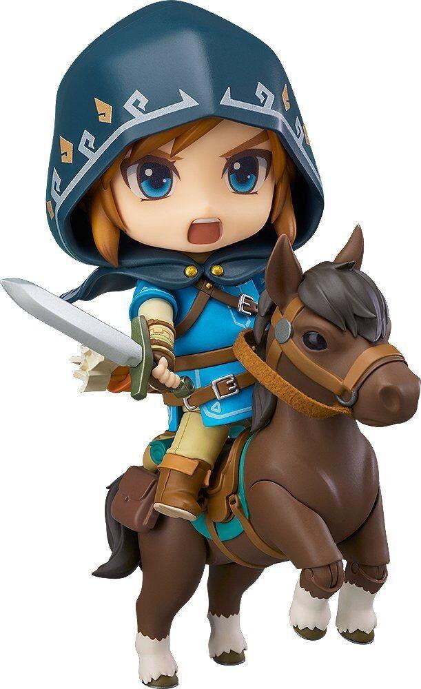 GOOD SMILE - Nendoroid 733-DX Legend of Zelda Link Breath of the Wild DX Edition
