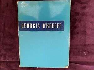 Georgia O'Keeffe 1943 edition Art Institute of Chicago, paperback book