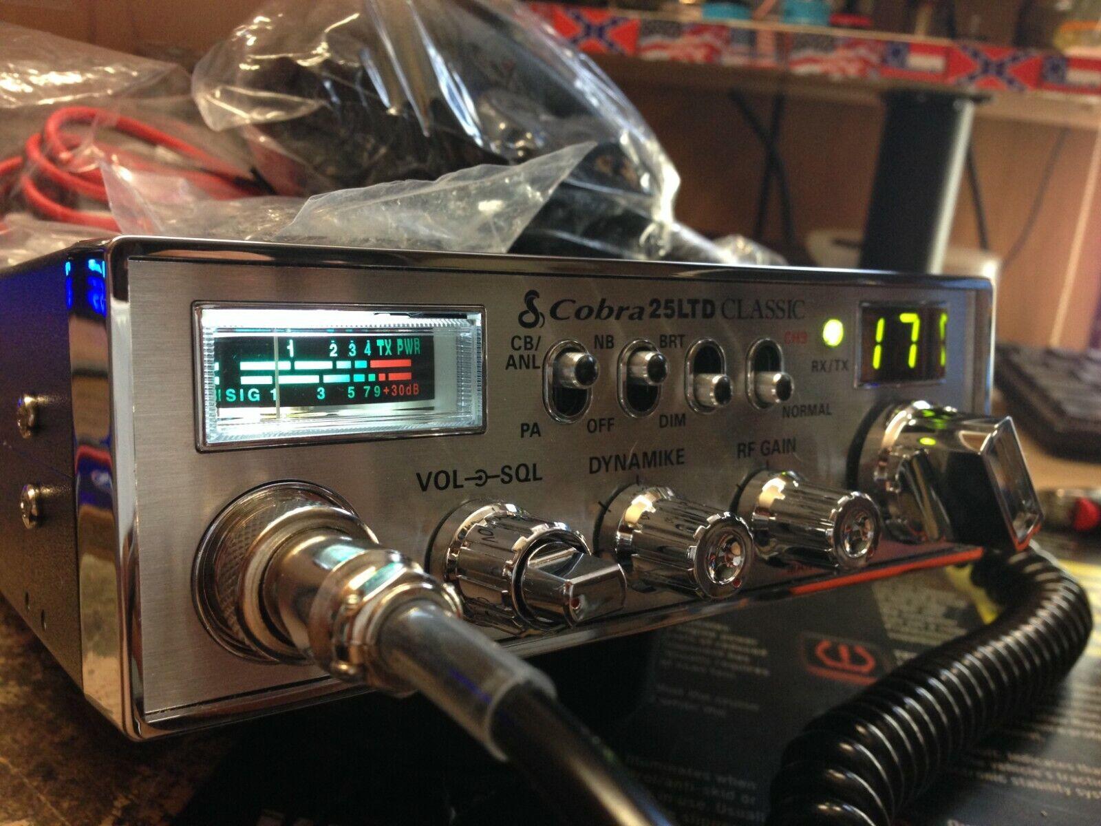 SWING KIT COBRA 29 LTD CB RADIO PEAKED TUNED TALKBACK BIG FINAL ECHO
