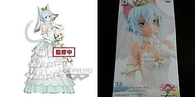 Banpresto Sword Art Online Code Register EXQ figure Wedding Sinon JAPAN