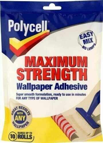 Papier Peint Pâte adhésivepolycell Résistance Maximale Facile Mélange Papier Peint Pâte