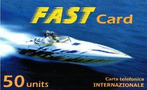 1259 SCHEDA TELEFONICA INTERNAZIONALE USATA FAST CARD 50 31-07-2002 AryOktZg-09115756-911115198