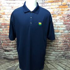 Nike Golf Dri Fit Blue Polo Shirt Size XL With Tags Reynolds 267020