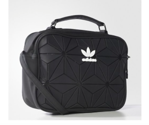 19b1e5a91087 Image is loading Adidas-Issey-Miyake-Black-Slingbag-Bao-Bao-Design-