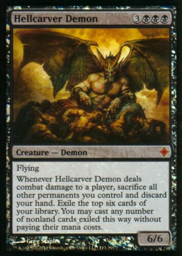 Hellcarver DEMON FOILNMrise pmh EldraziMagic MTG