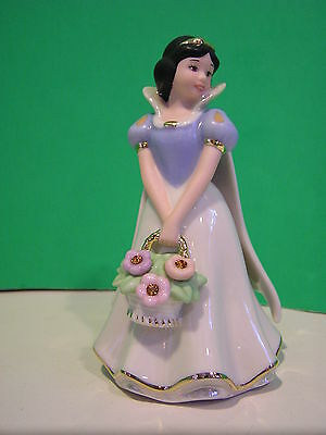 LENOX Disney A BOUQUET FROM SNOW WHITE November sculpture NEW in BOX w/COA