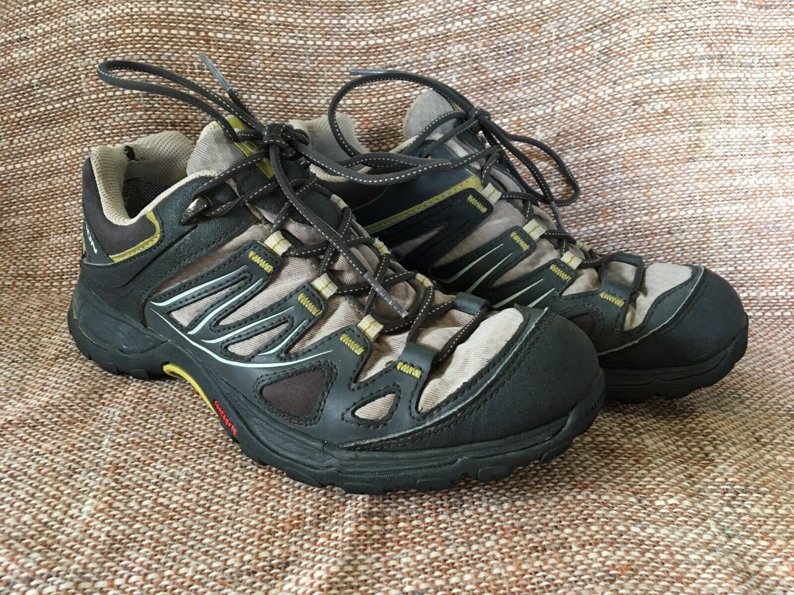 Salomon Ellipse GTX Gore-Tex Women's Waterproof Trail Hiking shoes Size 7.5