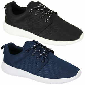 Mens-Lightweight-Mesh-Gym-Running-Trainers-Shoes
