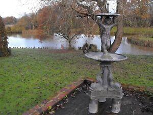 Lead Garden Water Fountain