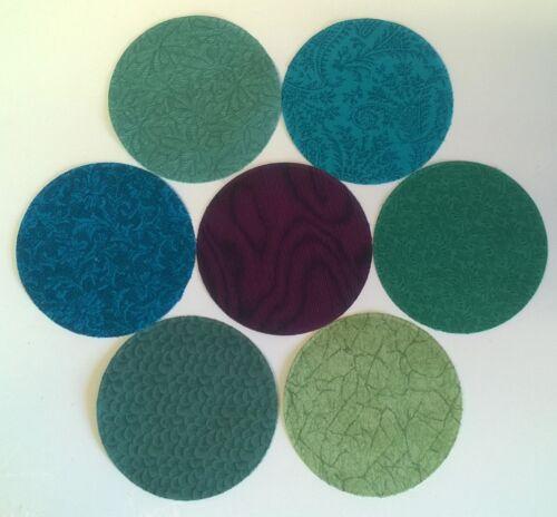 Jinny Beyer Troqueladoras Tela Pack Patchwork Paquete 100/% algodón-Círculos