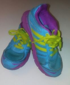 Details about ADIDAS ADIFAST K. YOTH GIRL'S RUNNING SHOES AQUA ASST PRE OWNED SIZE 1