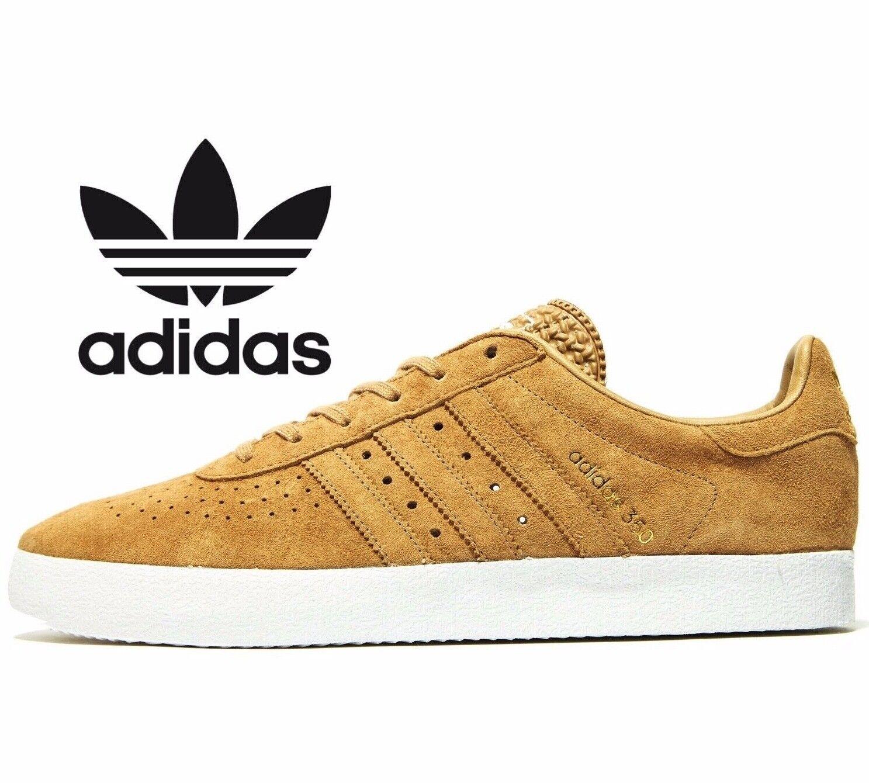 Adidas Originales 350 Cuero ® (hombres UK Talla 6 ) Cartón Marrón Bronceado