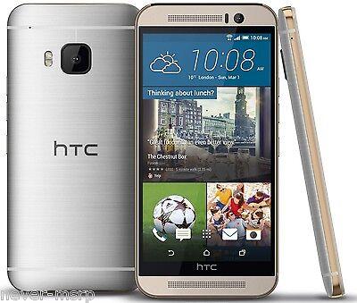 "HTC ONE M9 Silver 64GB (FACTORY UNLOCKED) 5"" Full HD , 20.7 MP  , 3GB RAM"