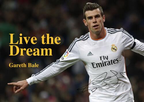 Gareth Bale 3 Welsh Professional Footballer Poster Real Madrid Dream Winger