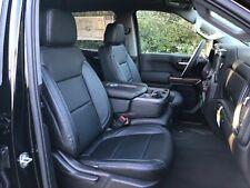 2021 Silverado Crew Cab Lt Katzkin Leather Seat Covers Kit Black Rst Trail Boss