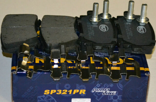 SCT Bremsbeläge SP321PR Bremsklötze Bremsbelagsatz Audi Skoda VW Bremsen hinten