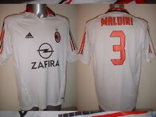 AC MIlan MALDINI Adidas Adult Large Shirt Jersey Football Soccer Italy Maglia