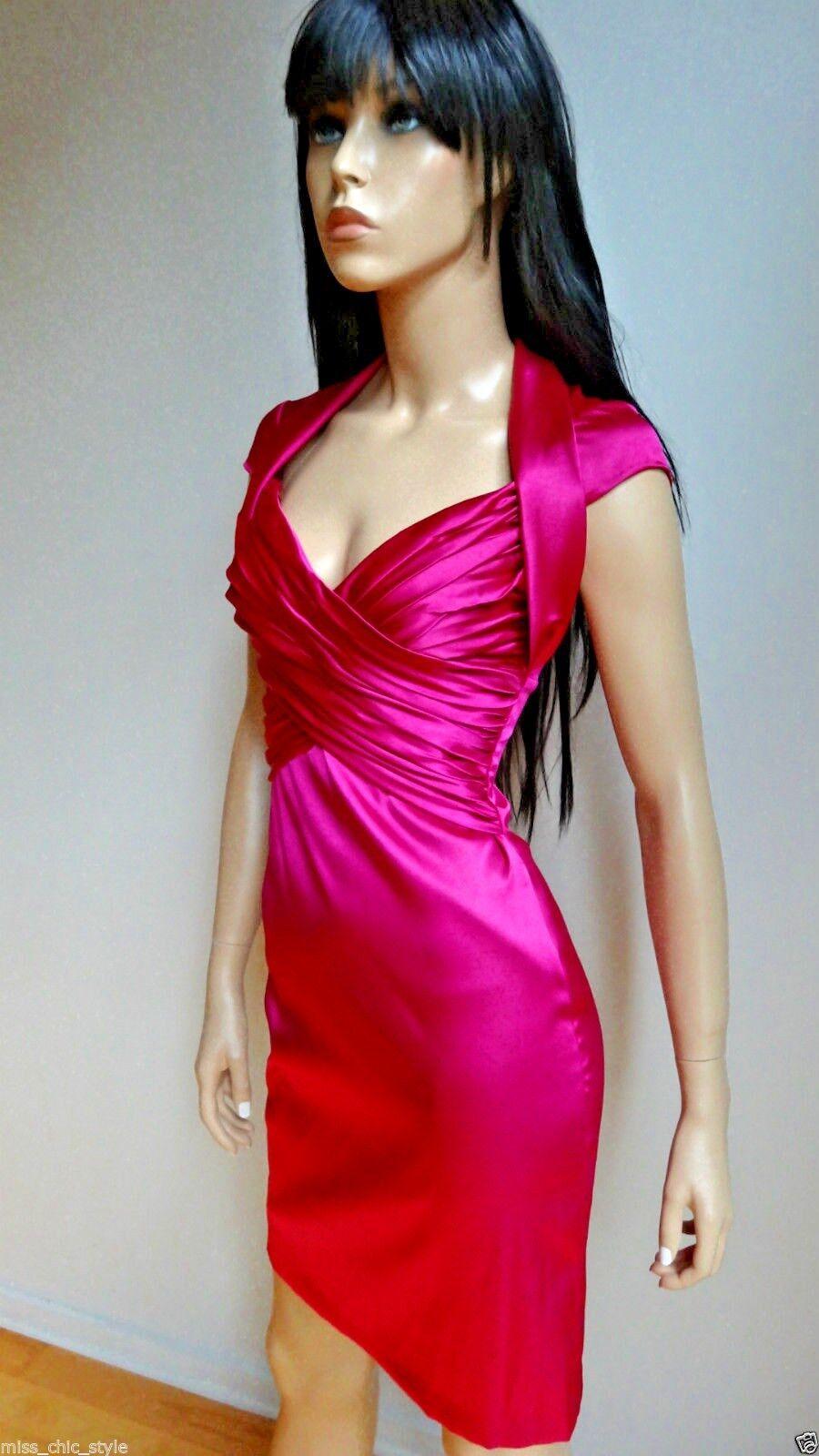 Seductive Nightway NY magenta dress size XS NWT NWT NWT 519a55
