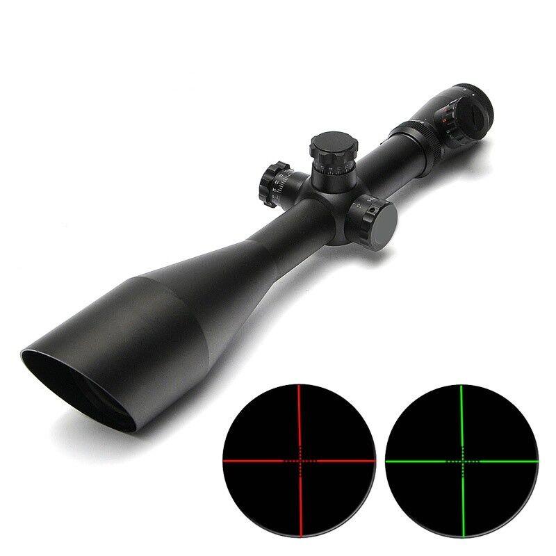 CS Caza M1 6-24X60 táctica óptica Mira Telescópica Rojo verde Dot Retícula Rifle