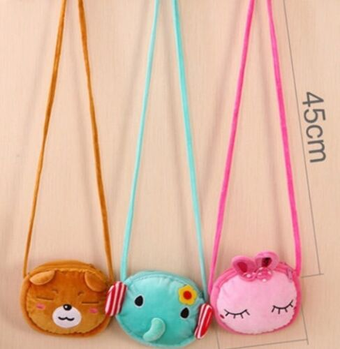 Cute character plush Bag